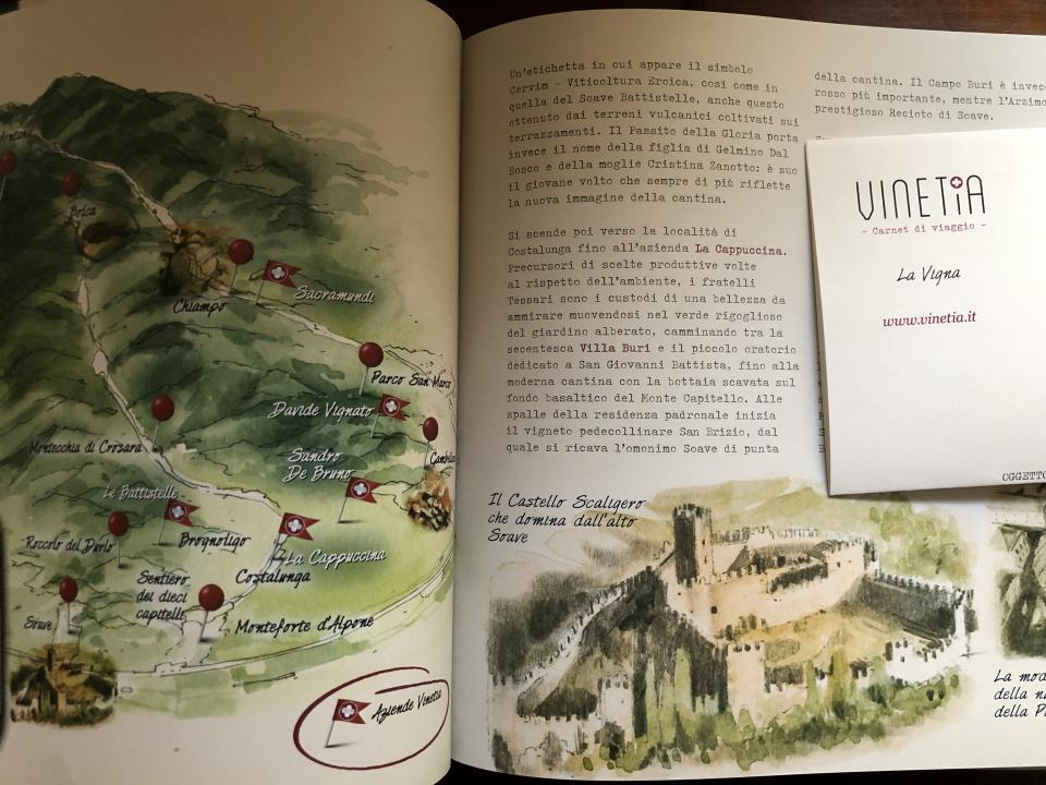 Travel booklet by Vinetia