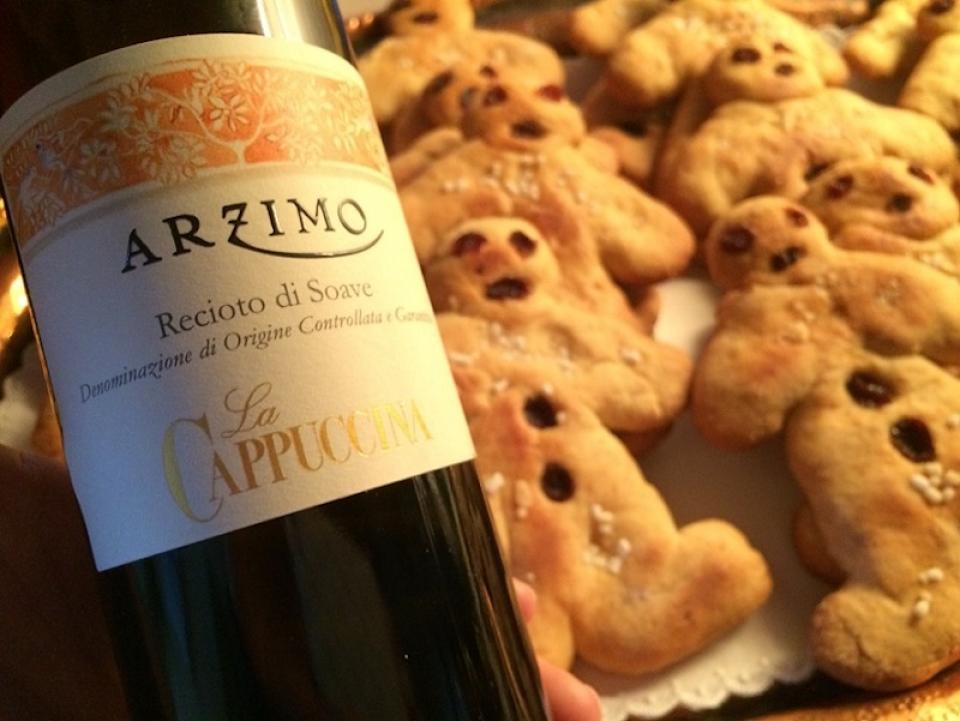 Arzimo And Christmas Cookies La Cappuccina