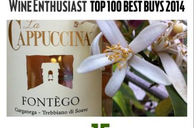 Fontego – Wine Enthusiast top 100 Best Buys 2014