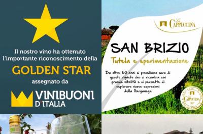 San Brizio is golden star